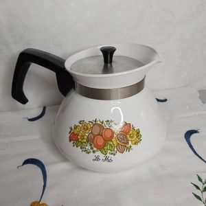 Vintage Corning Ware Spice Of Life Coffee Pot